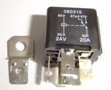 5 Pin automotive type 24 volt 20 / 30Amp relay ALT/RY8-02
